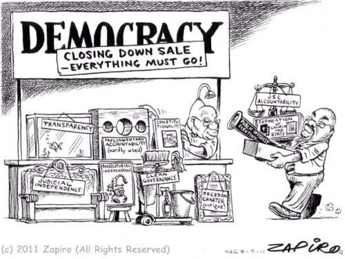 Puppets Take On Politicians In South Africa Za News 10 Tactics